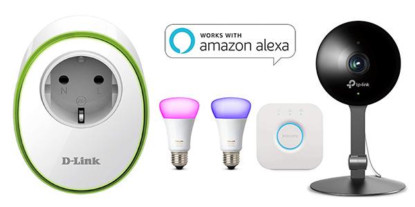 Amazon Alexa promoción con código descuento para dispositivos compatibles con Amazon