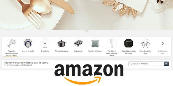 Amazon Lista de Boda con regalos online