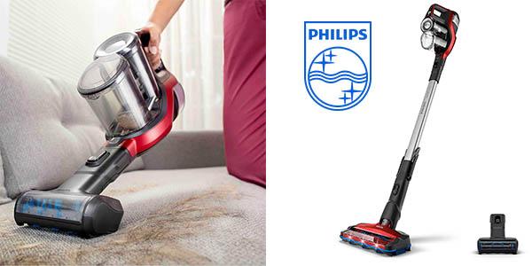 aspirador escoba gama alta Philips SpeedPro Max barato