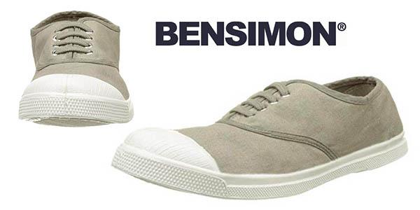 Bensimon Tennis Lacet Femme zapatillas baratas