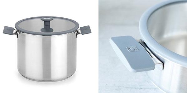 Batería de cocina BRA Color Steel de 4 piezas al mejor precio