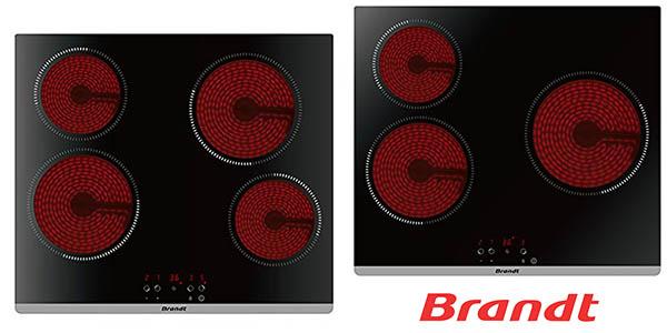 Brandt placas vitrocerámicas baratas
