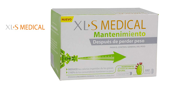 Caja 180 comprimidos XLS Medical Mantenimiento barato en Amazon