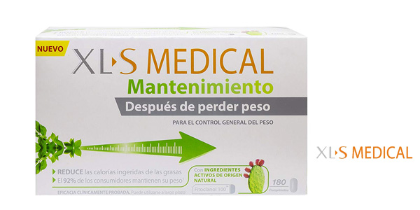Caja 180 comprimidos XLS Medical Mantenimiento chollo en Amazon