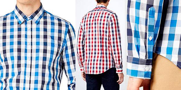 Camisa estampada Redford München en 2 modelos para hombre barata