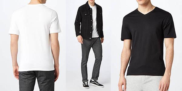 camisetas básicas Hugo Boss oferta