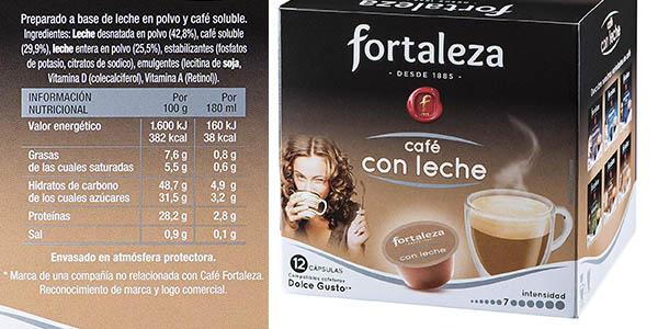cápsulas de café Fortaleza Dolce Gusto chollo