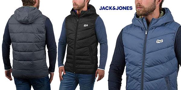 Chaleco con capucha Jack & Jones Outerwear para hombre barato en Amazon