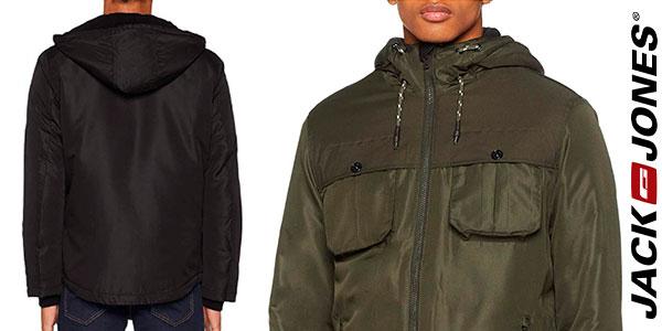 Chaqueta Jack & Jones Jconew Flicker con capucha para hombre barata