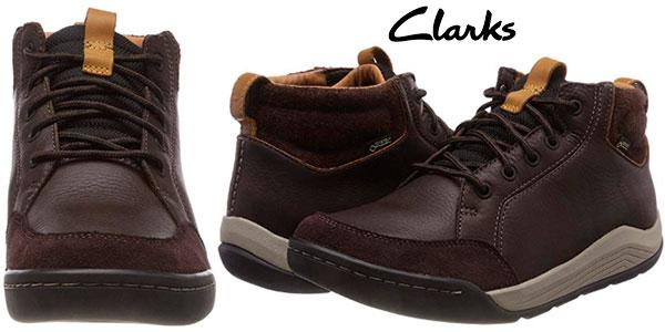 último estilo apariencia estética claro y distintivo Chollo Botas Clarks Ashcombe Mid GTX para hombre por sólo 64€ con ...