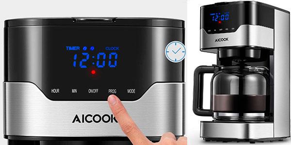 Chollo Cafetera de goteo Aicook de 900 W programable