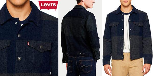 Chollo haqueta Levi's Wool Trucker para hombre