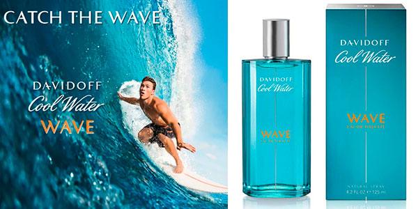 Chollo Eau de toilette Davidoff Cool Water Wave de 125 ml para hombre
