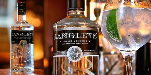 Chollo Ginebra Langley's No. 8 London Dry Gin de 700 ml