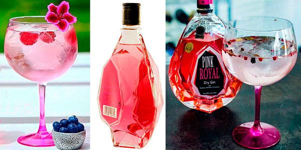 Ginebra Pink Royal Dry Gin de 700 ml barata