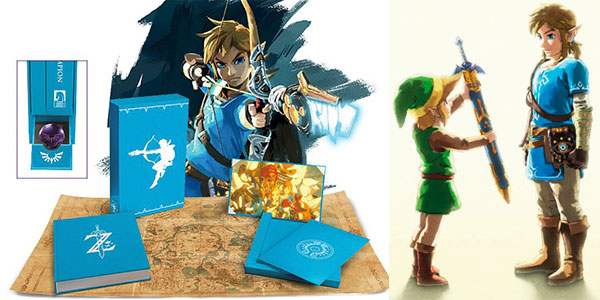 Chollo Libro de arte The Legend Of Zelda Breath Of The Wild - Creating A Champion Hero's Edition