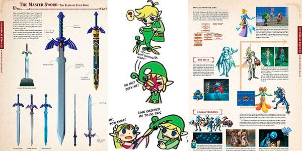 Libro The Legend Of Zelda Encyclopedia en tapa dura barato