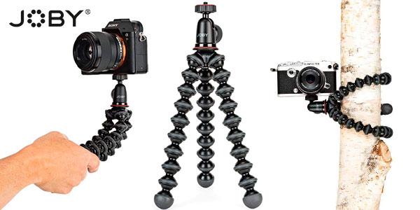 Chollo Trípode Joby GorillaPod 1K flexible con cabezal de rótula