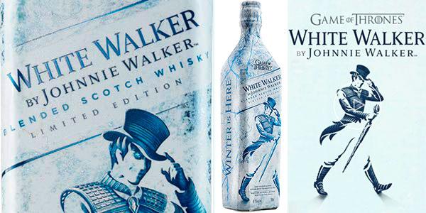 Chollo Whisky Johnnie Walker White Walker Edición Limitada Juego de Tronos de 700 ml