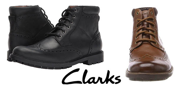 Clarks Curington Rise botas chelsea baratas