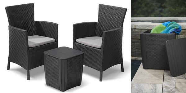 Conjunto de muebles de exterior Keter Iowa a buen precio