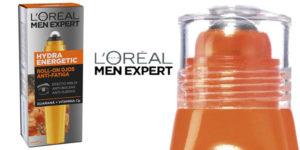 Roll-on ojos antifatiga L'Oréal Paris Men Expert efecto hielo Hydra Energetic de 10 ml barato en Amazon