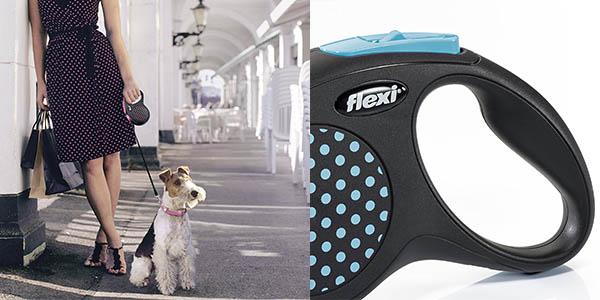correa para perros Flexi Design S relación calidad-precio estupenda