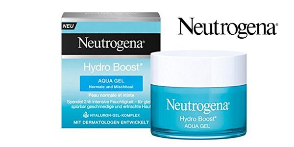 Crema Aqua Gel Neutrogena Hydro Boost piel normal y mixta 50 ml chollo en Amazon