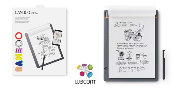 Cuaderno digital Wacom CDS-810S Bamboo Slate A4 barato en Amazon
