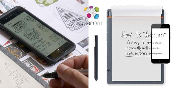 Cuaderno digital Wacom CDS-810S Bamboo Slate A4 chollo en Amazon