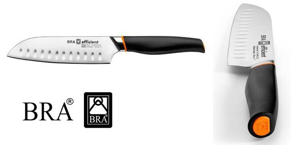 Cuchillo Santoku Bra Efficient 130 mm barato en Amazon