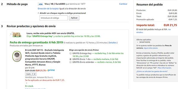 dispositivos electrónicos Alexa Amazon con cupón descuento