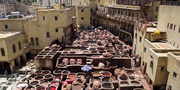 escapada barata a Fez