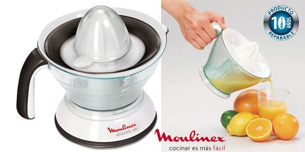 Exprimidor Moulinex Vitapress PC300B10 con doble filtro extraíble barato en Amazon