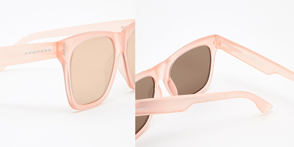 gafas de sol Hawkers Sunset color rosa chollo