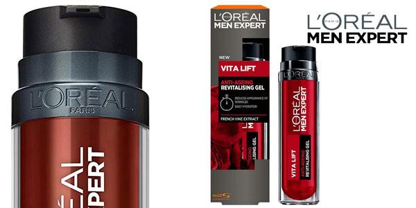 Gel Antiarrugas L 'Oreal Men Expert Vita Lift Revitalising Gel de 50 ml para hombre barato en Amazon