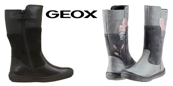 Geox J Hadriel Girl botas infantiles baratas