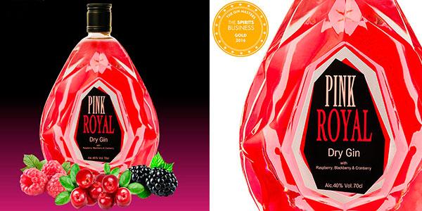 Chollo Ginebra Pink Royal Dry Gin de 700 ml