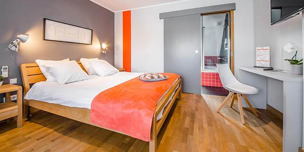 Hotel Mandarina Luxemburgo relación calidad-precio estupenda
