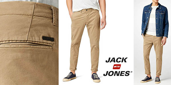 Jack Jones Marco Enzo pantalones chinos baratos