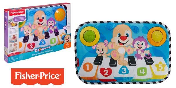 Piano Fisher-Price Perrito Pataditas (Mattel FJH40) para bebé barato en Amazon