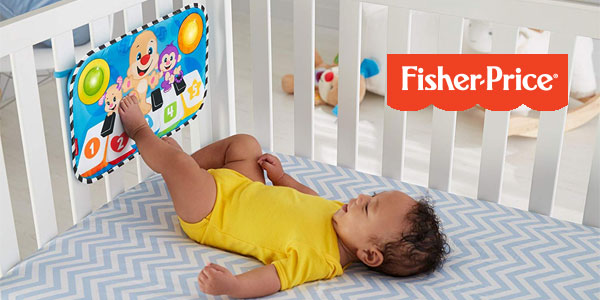 Piano Fisher-Price Perrito Pataditas (Mattel FJH40) para bebé chollo en Amazon
