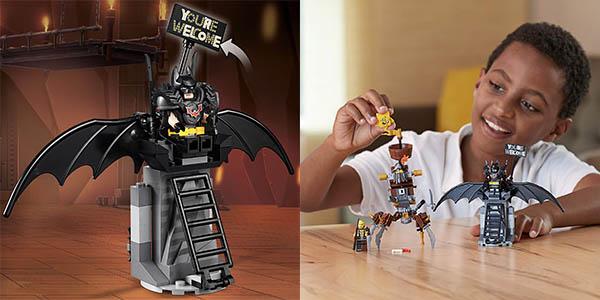 Lego set de Batman y Barbagris Preparados para luchar chollo