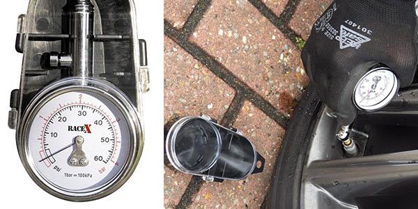 manómetro RACE X RX0014 relación calidad-precio estupenda valoraciones top