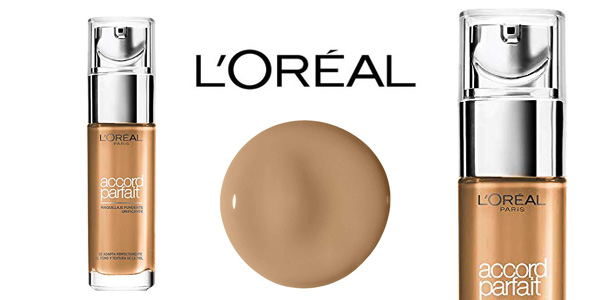 Maquillaje fluido L'Oreal Paris Accord Parfait Make-up Designer barato en Amazon