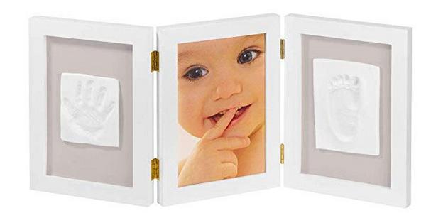 Marco triple My Sweet Memories ES Photo Frame + 2 Baby Print barato en Amazon