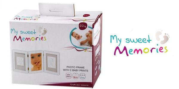 Marco triple My Sweet Memories ES Photo Frame + 2 Baby Print chollo en Amazon