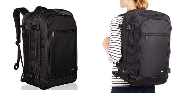 Mochila equipaje de mano de AmazonBasics barata