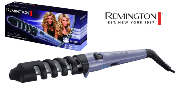 Moldeador de pelo Remington CI63E1 Dual Curl barato en Amazon