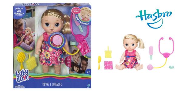 Muñeca Baby Alive Mimos y Cuidados (Hasbro C0957105) barata en Amazon